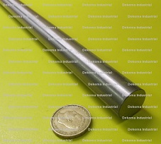 1 Pc. Length Precision Ground O1 Tool Steel Round Rod.199 Diameter x 6 Ft